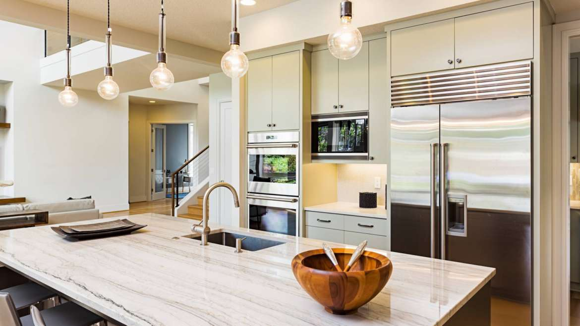 Modern Design Kitchen Countertops and Cabinets